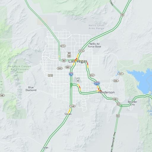 Las Vegas Map View