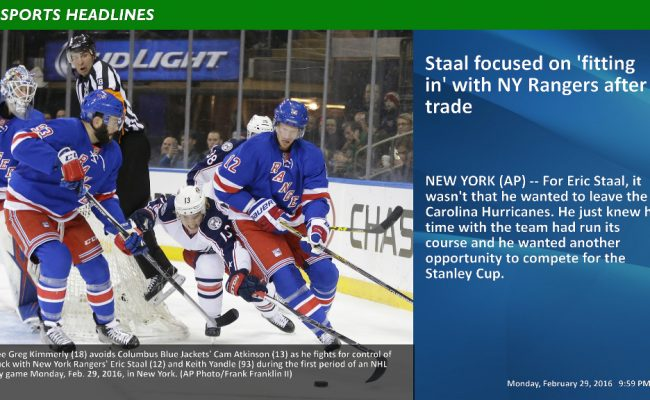 Above the Fold – Sports