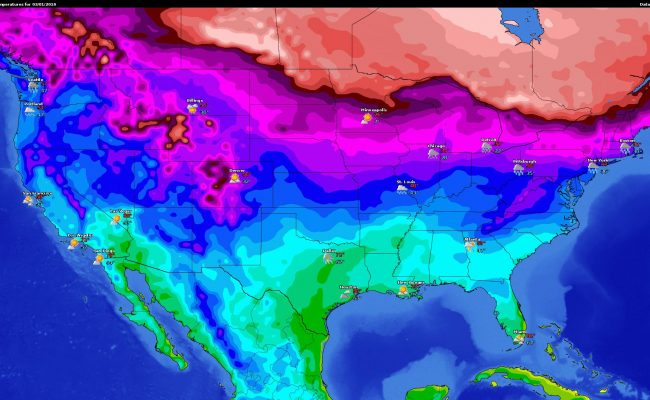 National LowTemps Forecast