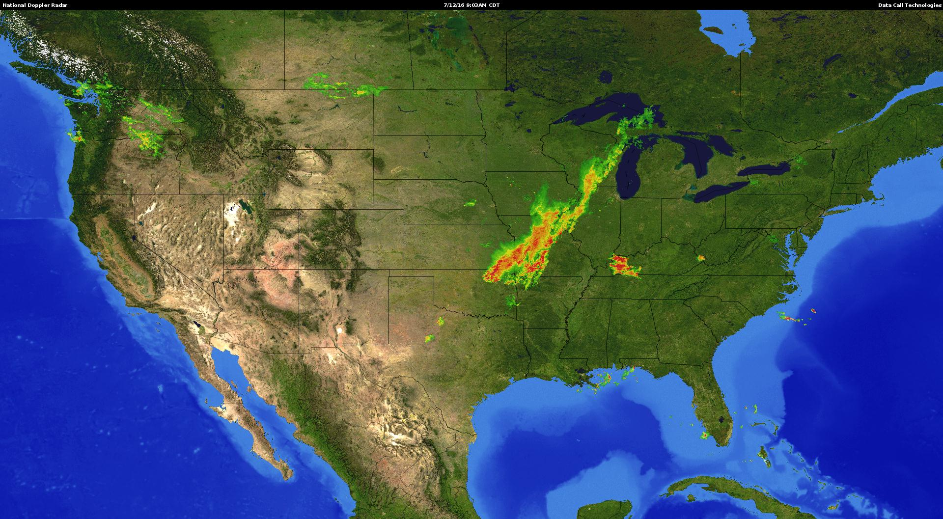 Doppler Radar Data Call Technologies - Us doppler radar map