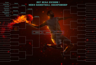 The Madness – NCAA Division 1 Mens Basketball Championship 2017